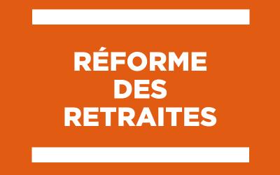 Réforme des retraites : un calendrier d'application différent pour le secteur privé et le secteur public serait inacceptable
