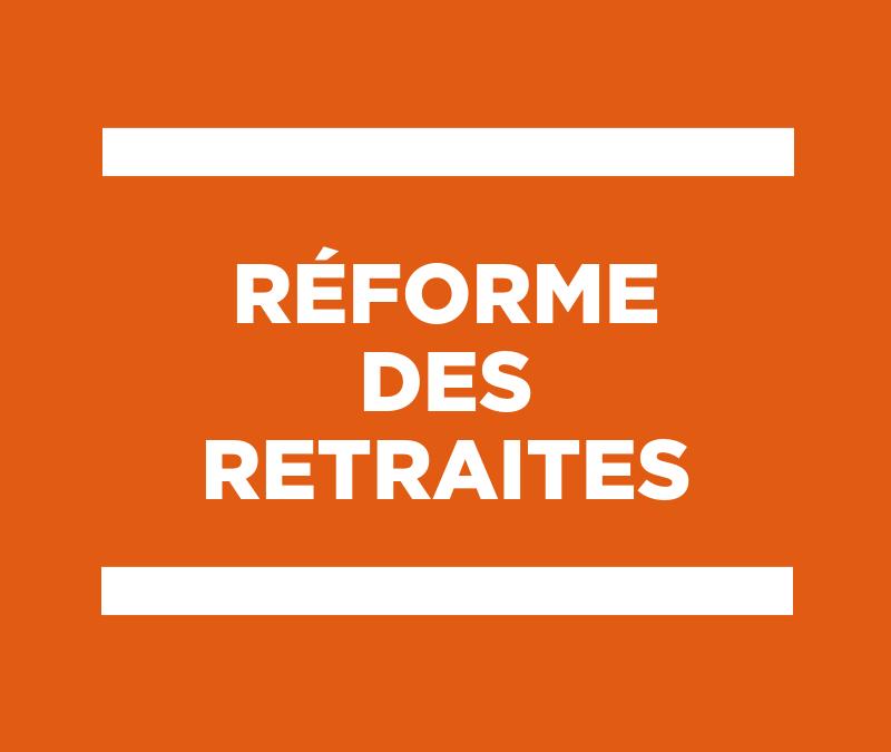 18 juillet 2019 – Réforme des retraites : réaction de la CPME